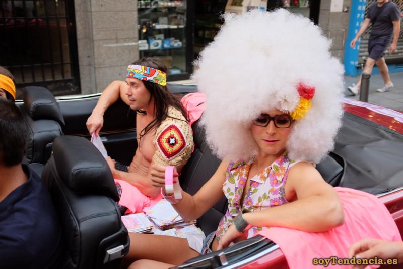 pelo blanco Chueca orgullo gay soy tendencia madrid street style