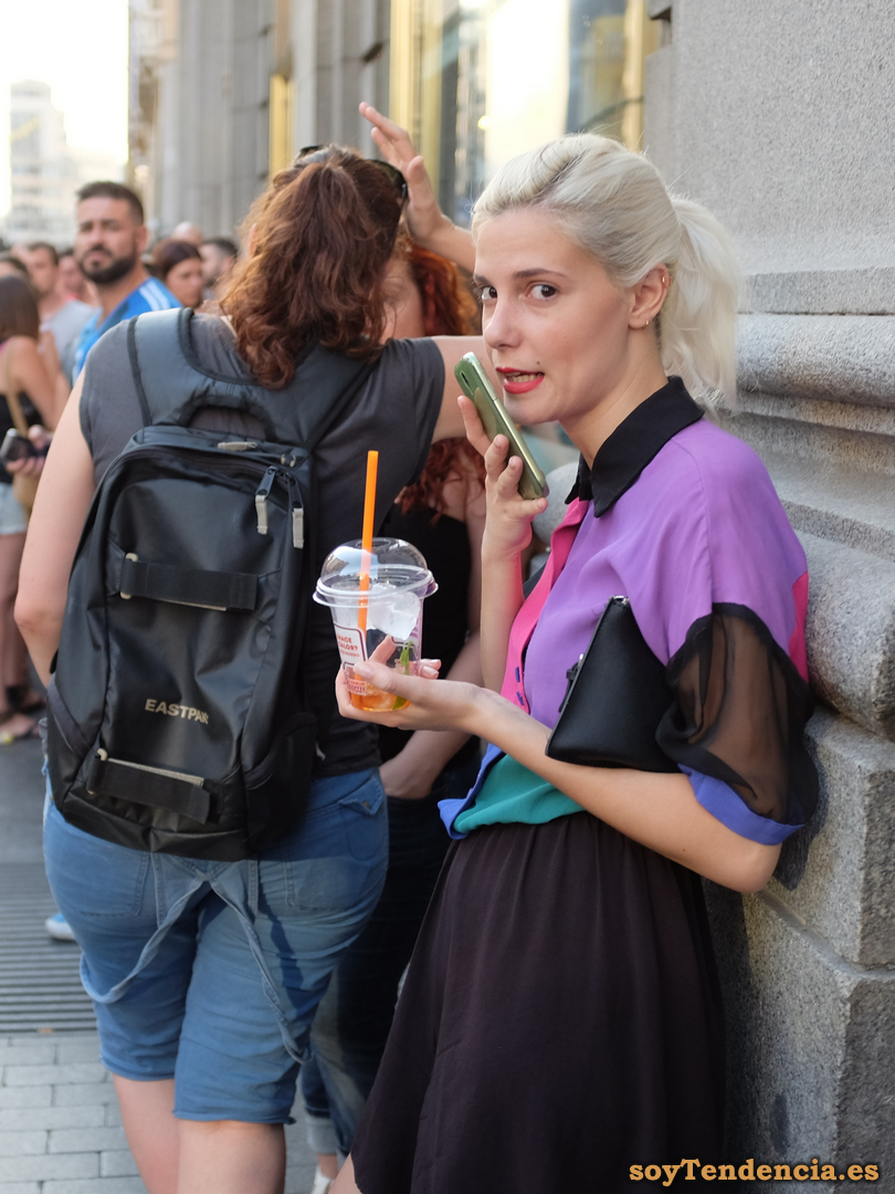 combinar colores soy tendencia madrid street style