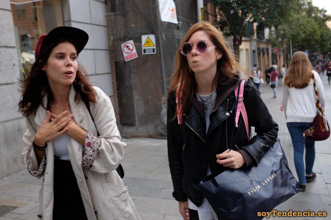 cazadora gabardina soyTendencia Madrid street style
