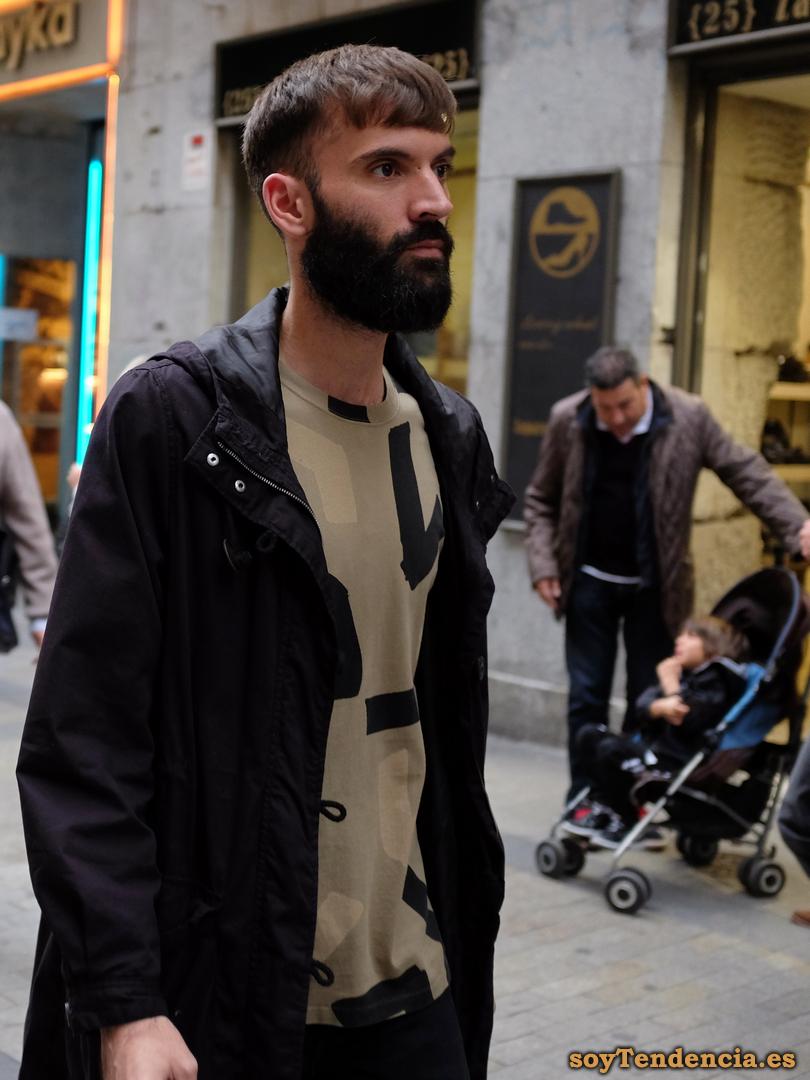 chaqueton hombre moda urbana soyTendencia Madrid street style