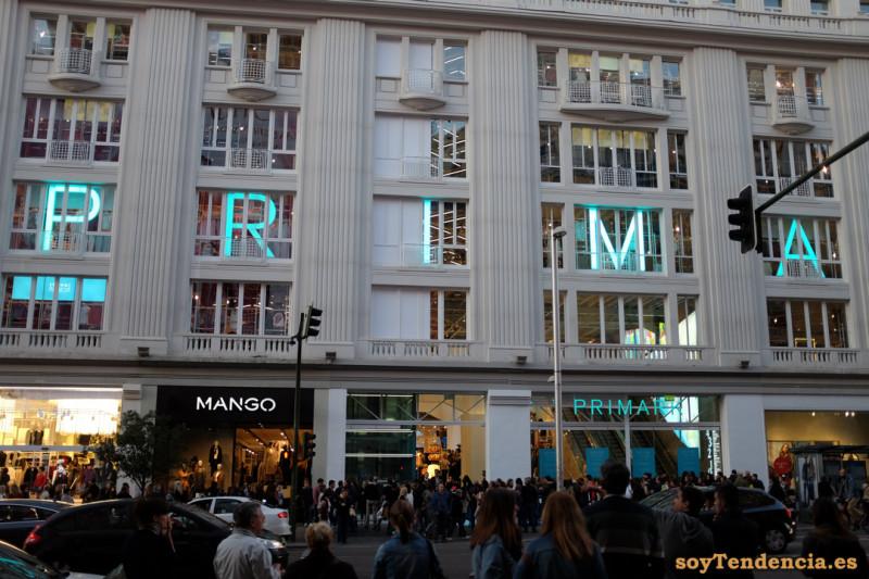 fachada Primark gran via soyTendencia Madrid street style