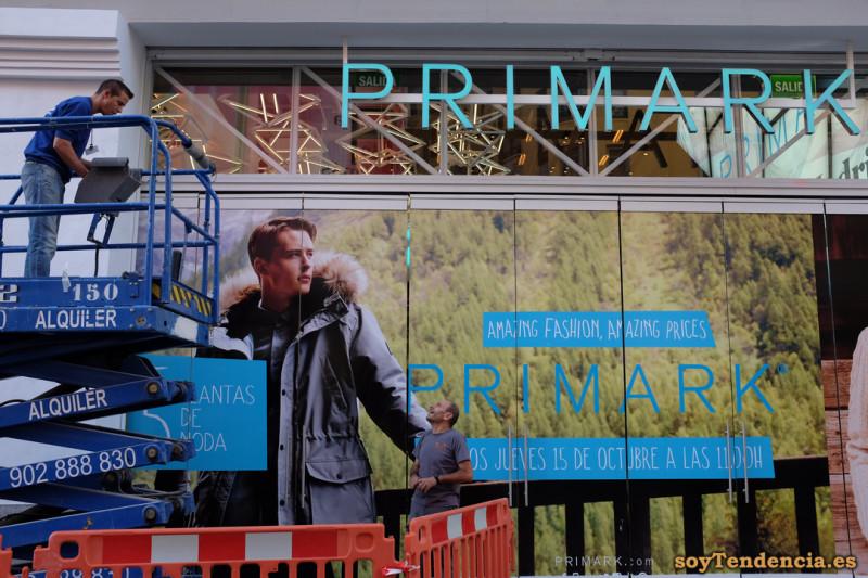 obras escaparate Primark gran via soyTendencia Madrid street style