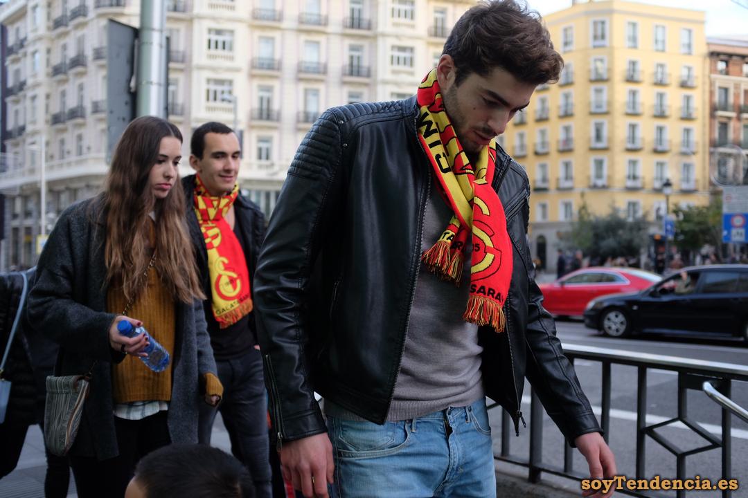 galatasaray atleti futbol aficionado soyTendencia Madrid street style