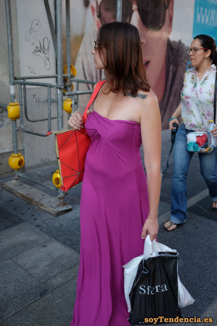 vestido fiesta calle soyTendencia Madrid street style