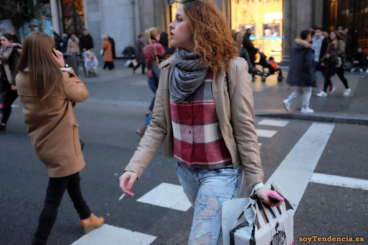 chaleco lana foot locker soyTendencia Madrid street style