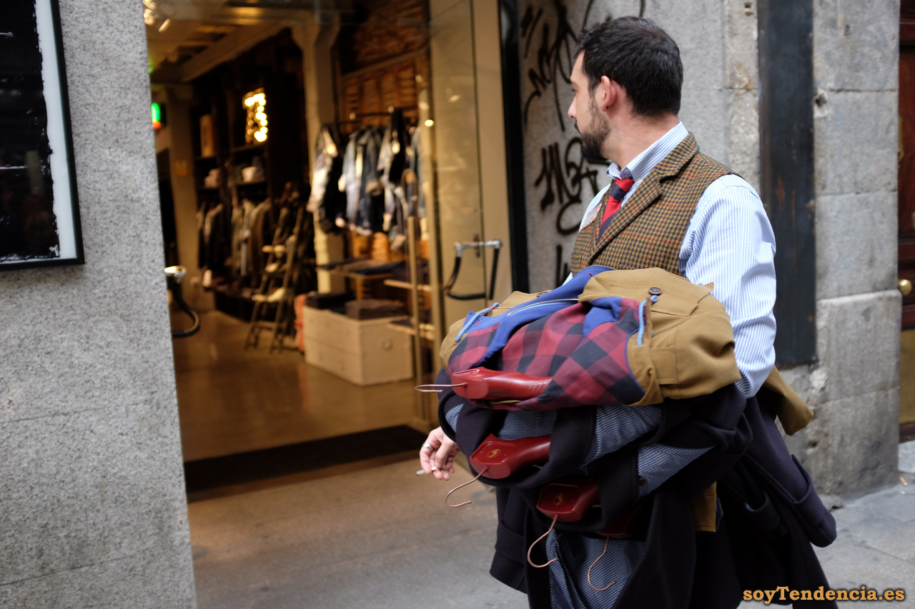 rebajas chaqueton hombre soyTendencia Madrid street style