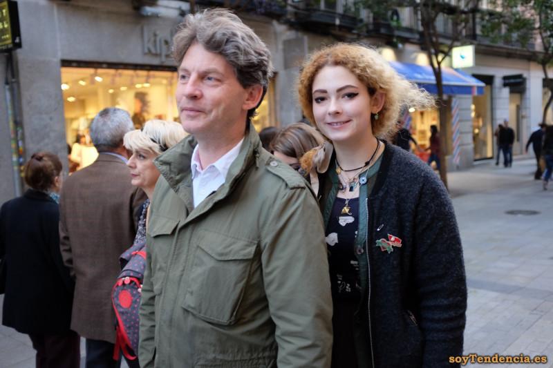 dos chaquetas pelo rizado soyTendencia Madrid street style