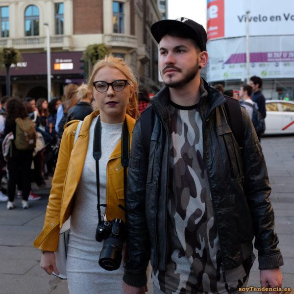 cazadora chaqueta amarilla zara fotografa soyTendencia Madrid street style