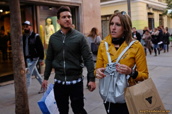 cazadora chaqueta amarilla zara oveja negra soyTendencia Madrid street style