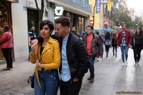 cazadora chaqueta amarilla zara vaqueros soyTendencia Madrid street style