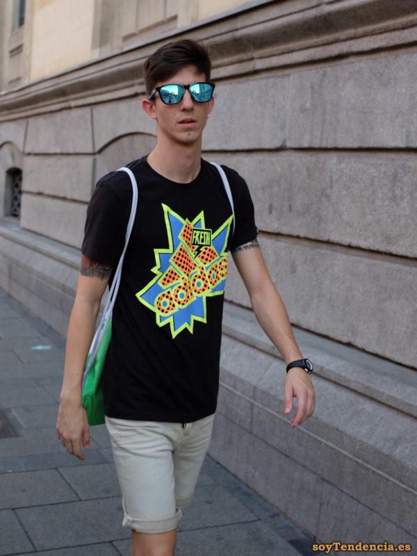 camiseta fresh adidas negra soyTendencia Madrid street style