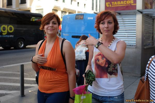 camiseta slipknot punk princess naranja sujeta al cuello soytendencia madrid street style