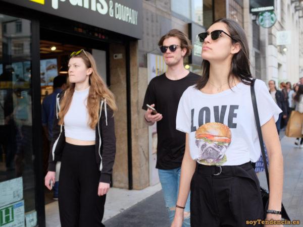 camiseta perro hamburguesa love soytendencia madrid street style