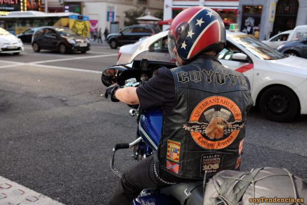 chaleco cuero Quebrantahuesos Harley Davidson Huesca coyote custom 105 years soytendencia madrid street style