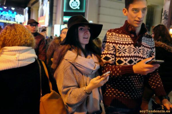 sombrero ala ancha jersey amplio soyTendencia Madrid street style