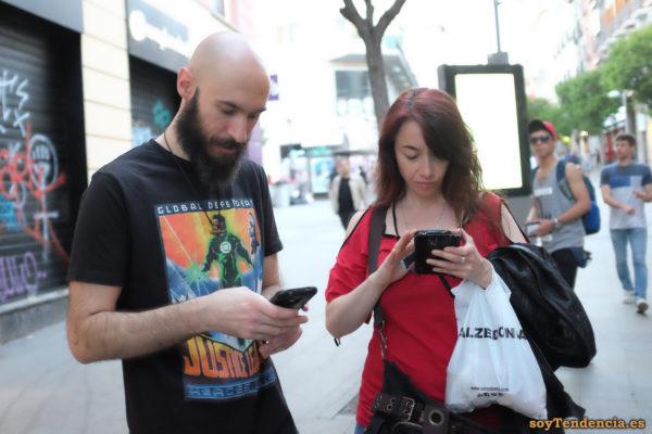 camiseta Justice League Green Lantern móvil soyTendencia Madrid street style
